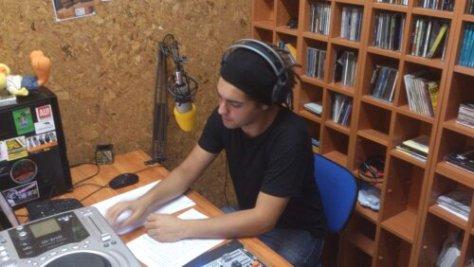 Sergio Fernández  en el estudio